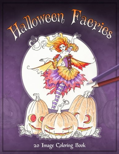 Halloween Faeries Coloring Book]()