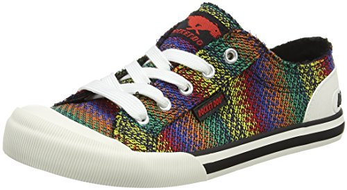 Rocket Dog Damen Jazzin Sneaker Mehrfarbig (Zane Black Multi)