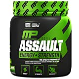 MusclePharm Assault Sport, Green Apple, 0.8 Pound