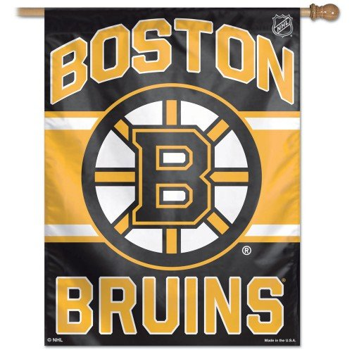 NHL Boston Bruins 27-by-37-Inch Vertical Flag