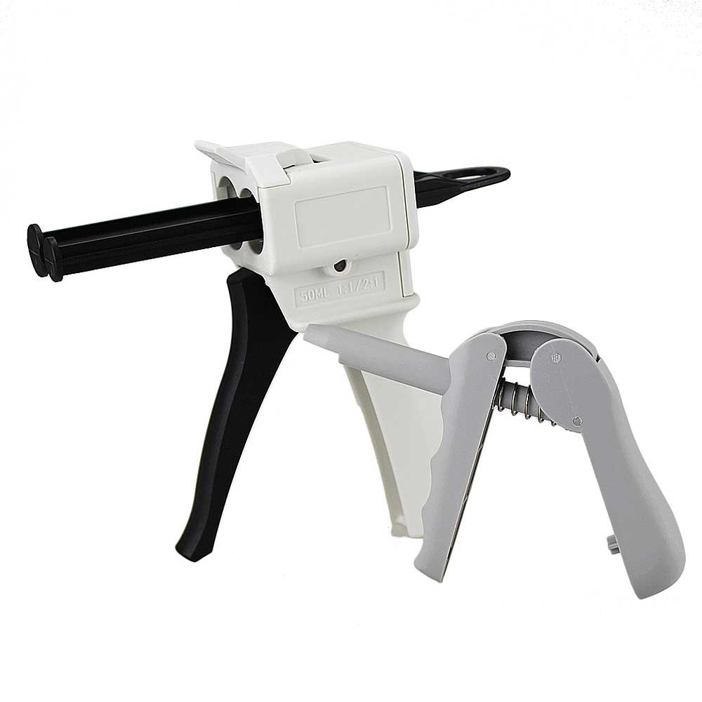 Airgoesin 1 Dental Composite Gun Applicator Dispenser + 1 Impression Mixing Dispensing Gun