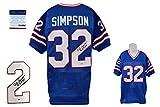 O.J. Simpson Signed Jersey - PSA/DNA - Buffalo Bills Autographed - HOF 85