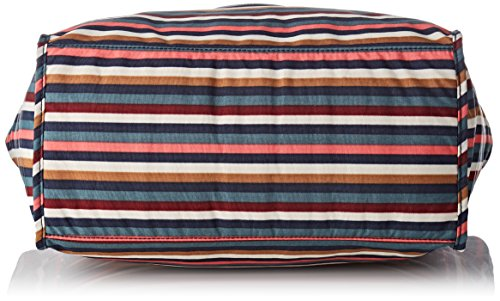 Donna Shopper Tote Striped Multi L New Kipling Borse Multicolore 7wS4OFq