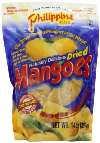 Philippine Brand Dried Mango Ounce product image