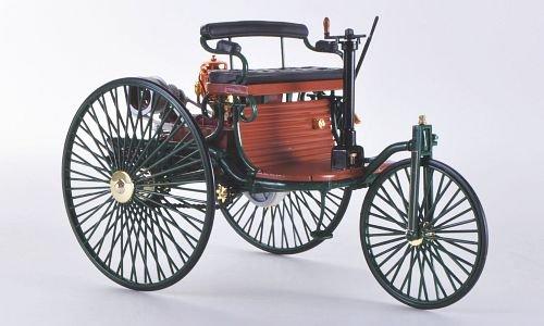 Modellauto gr/ün Mercedes Benz Patent-Motorwagen Fertigmodell 1886 Norev 1:18