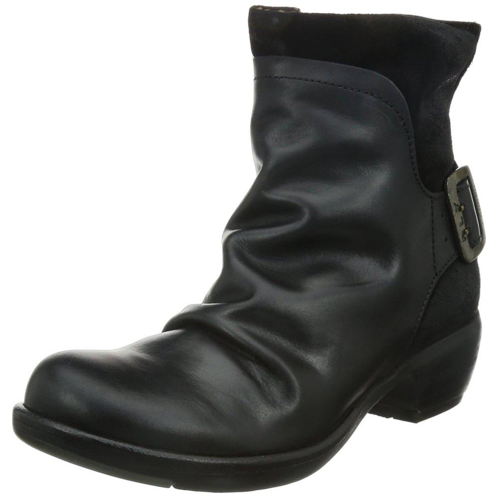 FLY London Women's Mel Ankle Boot,Black,41 EU/10-10.5 M US