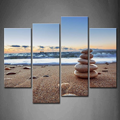 Painting Seascape Pictures Decoration Stretched