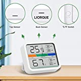 LIORQUE Hygrometer Indoor Thermometer, Room
