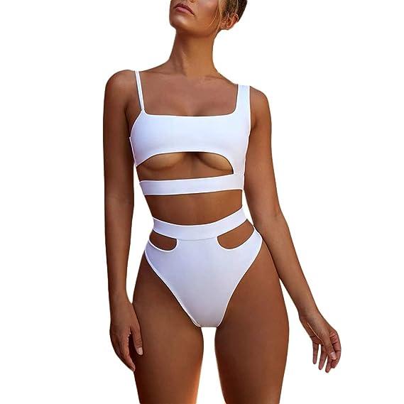 Bañadores Bikinis Bañador Trajes De Baño Swimwear Traje De Baño Mujer Vestidos De Baño Ropa De Baño Bohemia Push-Up Padded Bra Bikini (S, B)