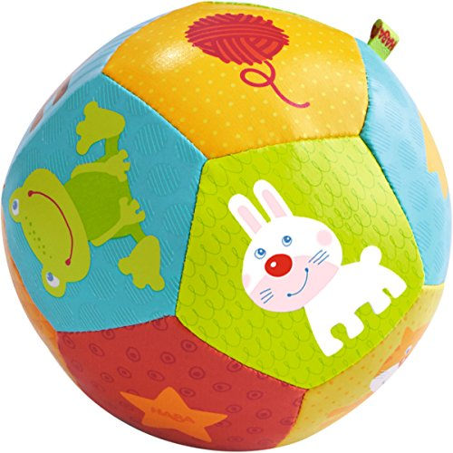 HABA Baby Ball Animal Friends 4.5