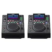 2 x Gemini MDJ-600 Professional CD Player Media DJ Controller USB (Pair)