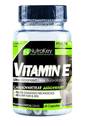 NutraKey Vitamin E 700 IU, 60-Count