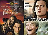Leonardo DiCaprio 2-Movie Classic Collection - The Man in the Iron Mask & What's Eating Gilbert Grape 2-DVD Bundle