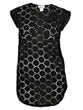 Jordan Taylor Women's Pattern Design Dress Cover ups (S, Black)