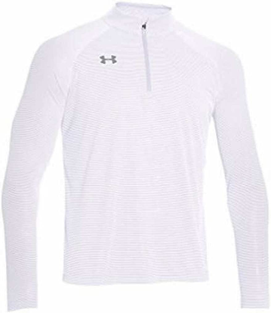 Under Armour Mens Stripe Tech 1//4 Zip Pullover