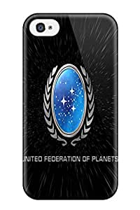 Perfect Fit LsdhUUX3371DpkhN Star Trek Federation Warp Case For Iphone - 4/4s