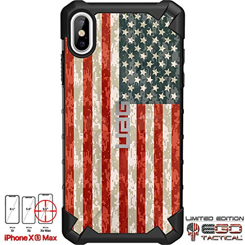 Limited Edition Designs by Ego Tactical on a UAG Urban Armor Gear Case for Apple iPhone Xs Max (Larger 6.5
