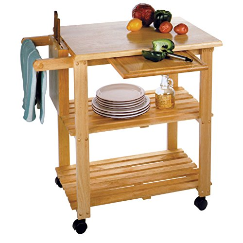 home, kitchen, furniture, kitchen, dining room furniture,  kitchen islands, carts 7 picture Winsome Wood Mario Kitchen, Natural in USA