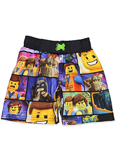 Lego Movie 2 The Second Part Boy's Swimwear Swim Trunks