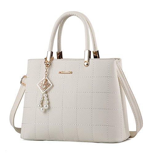 BW New Fashion Women Top Handle Satchel Handbags Tote Purse Messenger Bags ()