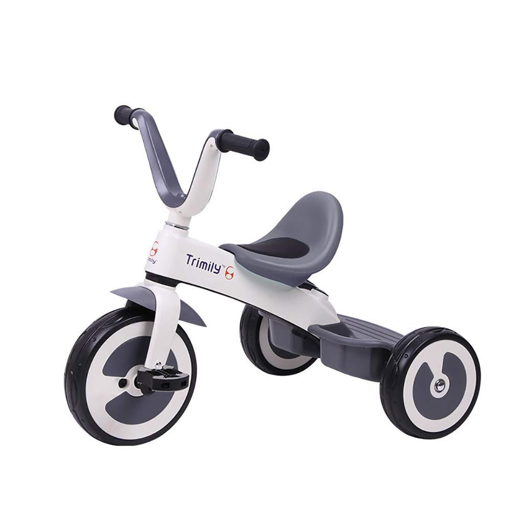 en linea blanco Triciclo Baby 1 Año, Ultraligero 2 en en en 1 Triciclo para Niños Asiento Ajustable +18 Meses Pedales para PadresAleacióN de Magnesio Triciclo de Empuje  excelentes precios
