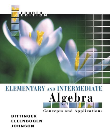 Elementary and Intermediate Algebra: Concepts and Applications Value Pack (includes Math Study Skills & MathXL 24-mo