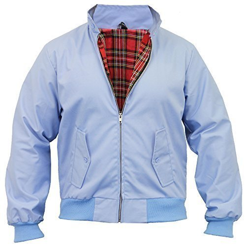 Amazon.com: Mens Harrington Bombardero chamarra Retro: Clothing
