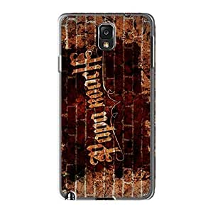 Shockproof Cell-phone Hard Cover For Samsung Galaxy Note3 (ZUr1338BvGA) Unique Design High-definition Papa Roach Pattern