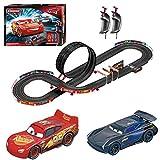 Carrera GO 62476 Disney Pixar Cars Speed Challenge Electric Slot Car Racing Track Set 1:43 Scale