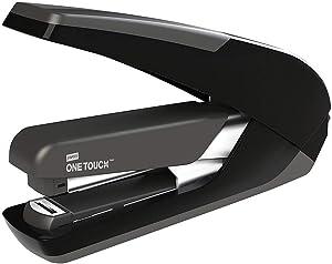 Staples 219306 One-Touch Plus Desktop Stapler Full-Strip Capacity Black (25110)