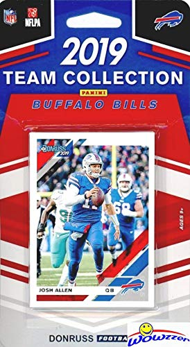 Buffalo Bills 2019 Donruss NFL Football Limited Edition 11 Card Complete Factory Sealed Team Set with Josh Allen, LsSean McCoy, Jim Kelly & Many More Stars & Rookies! WOWZZER