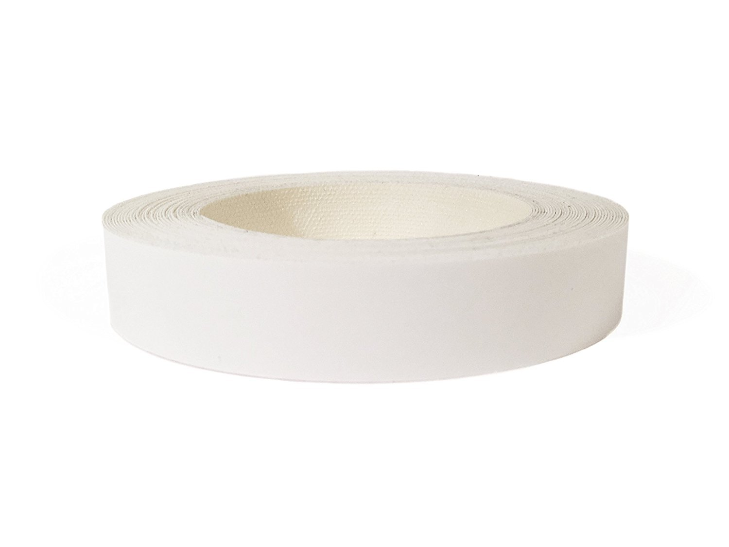 White Melamine Edge Banding Preglued 3/4'' X 50' Roll - Iron on - Hot Melt - High Quality. Made in USA.