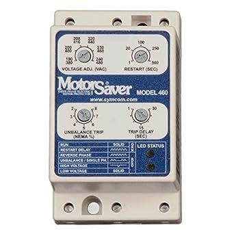 Symcom Motorsaver 3 Phase Voltage Monitor Model 460 L