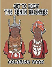"""Get to know the Benin Bronzes: 8.5"""" x11"""" coloring book"""
