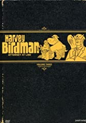 Harvey Birdman, Attorney at Law: Vol. 3 (DVD)Once a third-rate superhero, Harvey Birdman is now a third-rate lawyer trying like hell to get by in a fancy law firm. It's not clear whether Harvey actually went to law school, but he definitely k...