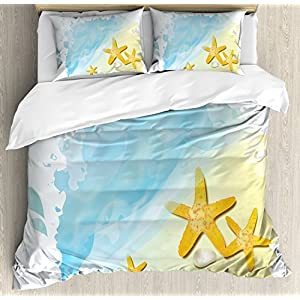 51-KfOpvrCL._SS300_ 200+ Coastal Bedding Sets and Beach Bedding Sets
