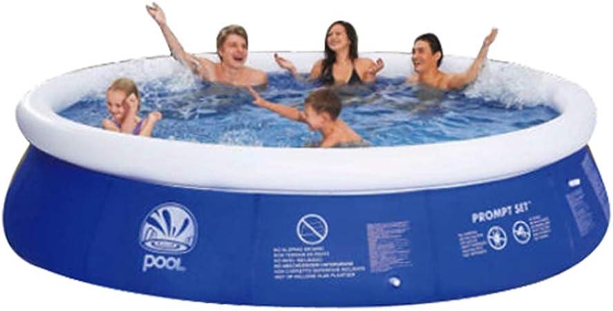 Denny International 8 Feet 10 Feet Fast Set Pools Summer Outdoor Fun Round Paddling Pool 10 Feet X 29 Pool Amazon Co Uk Garden Outdoors
