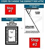Louisville Ladder AA2210 Elite Aluminum Attic