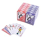 GAMELAND Playing Cards Set, Poker Size, 12 Decks of Cards