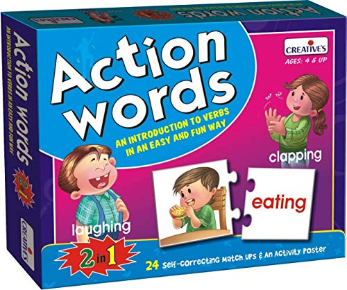 - CREATIVE EDUCATIONAL Pre-School Action Words
