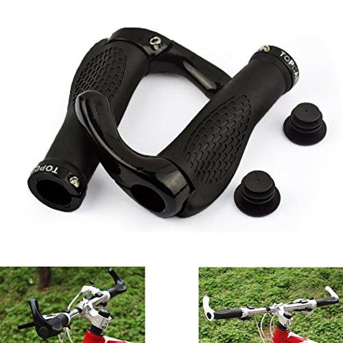 TOPCABIN-Ox-Horn-Silicone-Ergonomic-Handlebar-Grips-for-Moutain-Bike