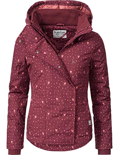 Sublevel Veste sportive de transition pour femme 46550D 9 Couleurs XS-XL Red