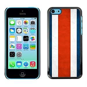 diy phone caseYOYO Slim PC / Aluminium Case Cover Armor Shell Portection //Costa Rica Grunge Flag //Apple Iphone 5Cdiy phone case