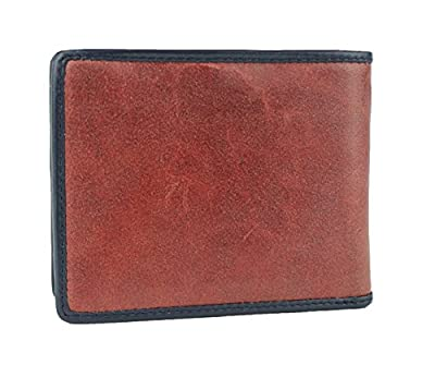 New Tommy Hilfiger Men's Leather Double Passcase & Valet Wallet