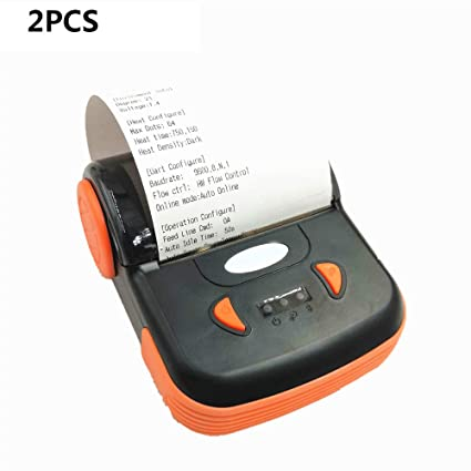 ZUKN Mini Impresora Térmica 80Mm Inalámbrica Bluetooth Portátil ...