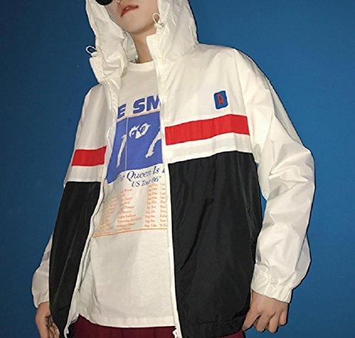 Zip Jacket Lightweight Men Black Juniors Breathable Top Windproof Front XINHEO 85HBqH