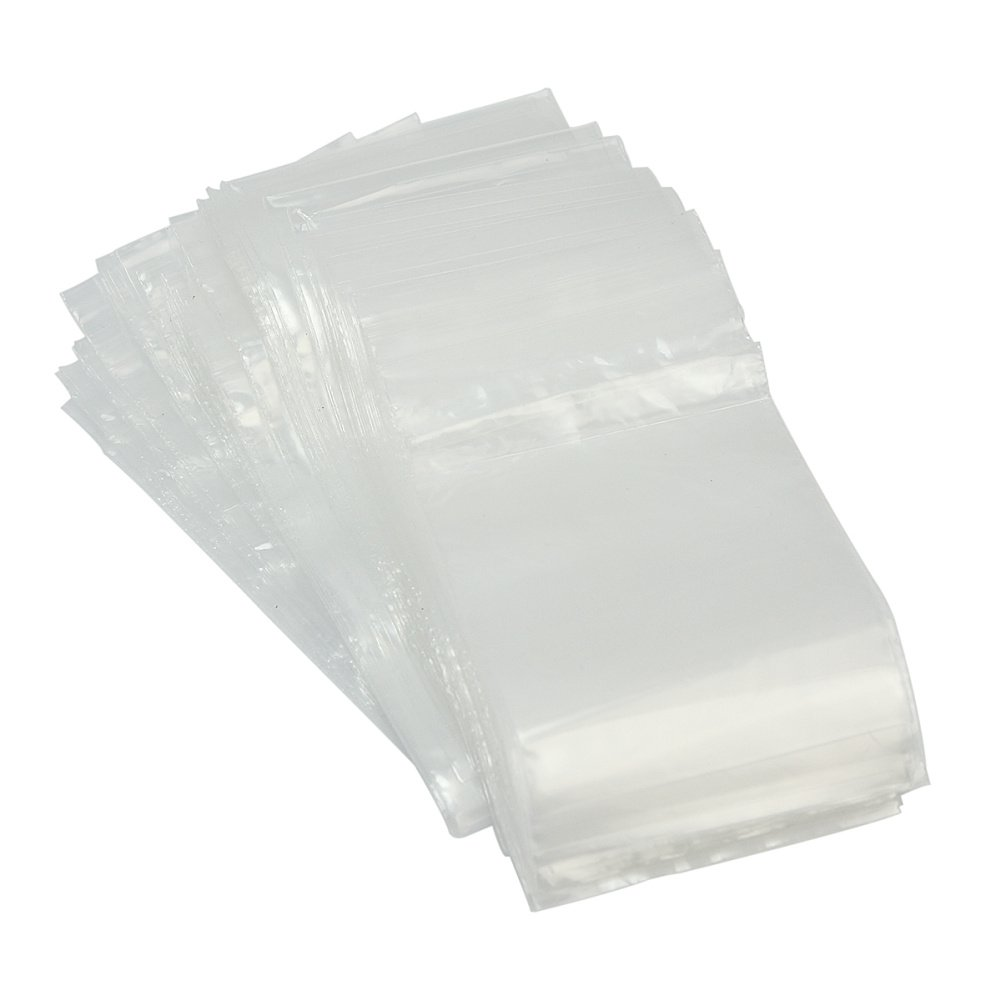 1 Pack Ziplock Resealable Reclosable Plastic Bags for Jewelry Packaging 6x9cm