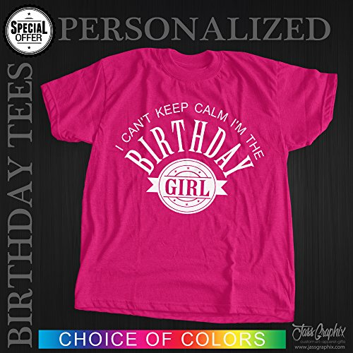 Personalized Birthday Shirt This Is Available In Both Youth Adult Sizes And