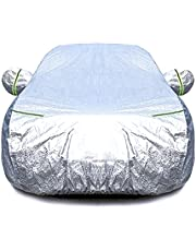 3Layer Aluminum Waterproof Outdoor Car Cover Double Thick Rain UV Resistant 3XXL