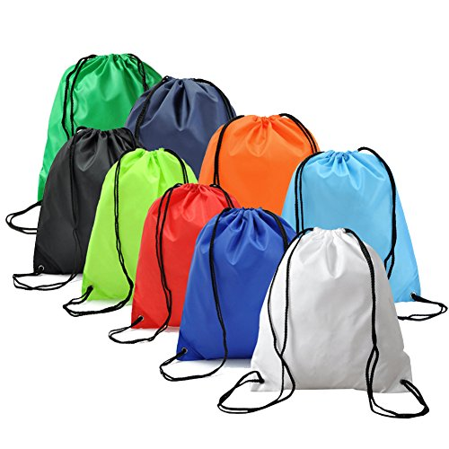 BINGONE Folding Sport Backpack Nylon Drawstring Bag Home Travel Storage Use 9 -